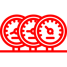 An icon depicting some dials.